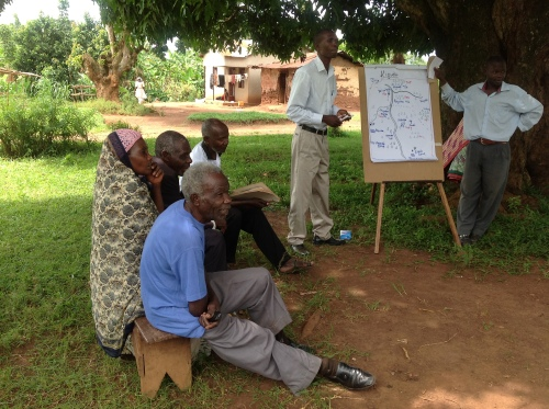 Community mapping, as part of community assessments, involve the local community and identify its specific needs.